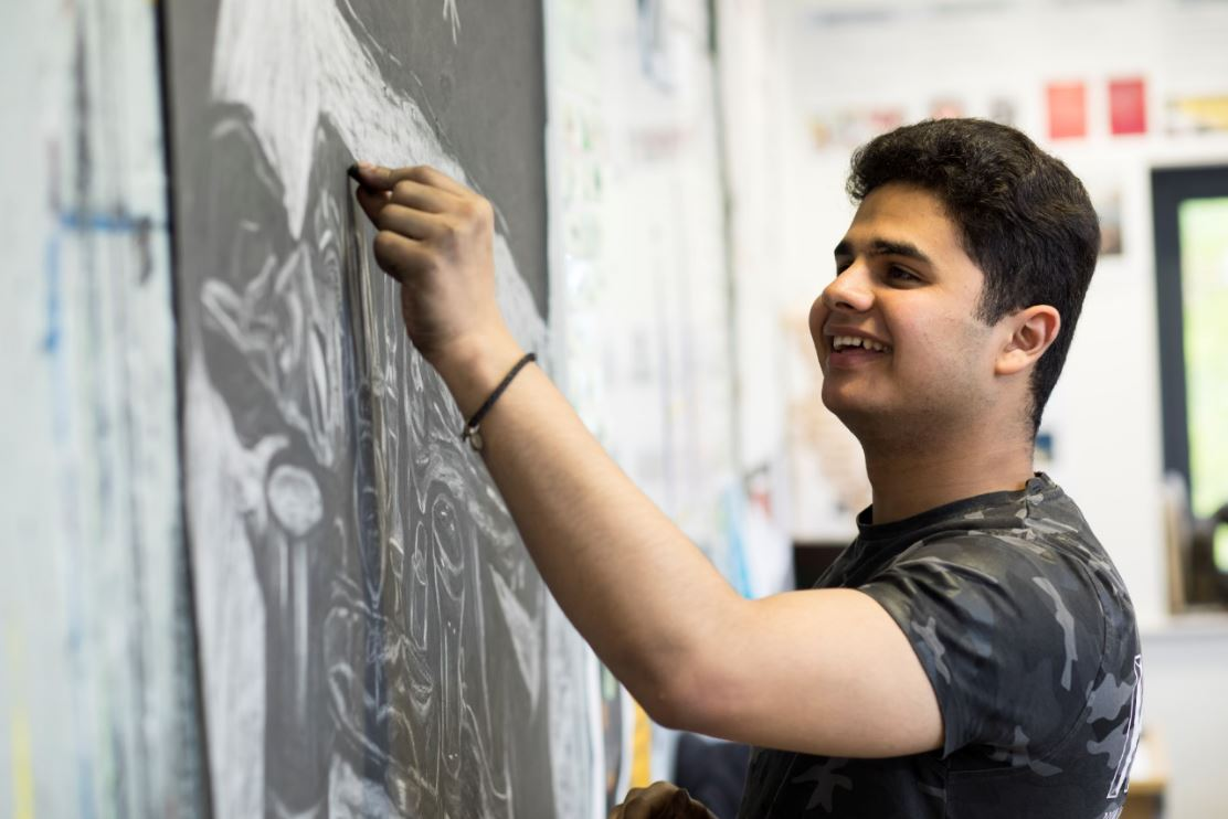 A Level Art, Fine Art. Sixth Form. Prior Pursglove College. North East